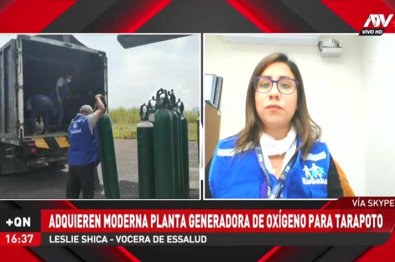 EsSalud adquiere moderna planta generadora de oxígeno para Tarapoto