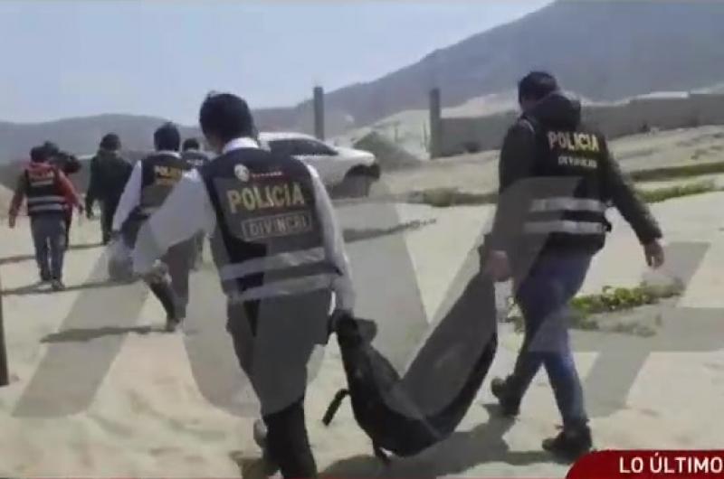 Trujillo: Asesinan a dos menores y los entierran en acantilado