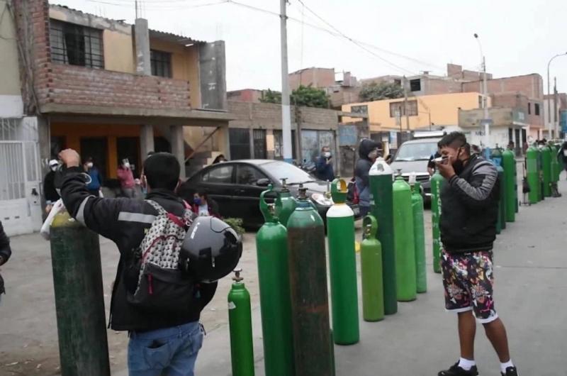 Fiscalía investiga presunto tráfico de oxígeno en Hospital de Tarapoto
