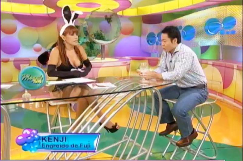 """Kenji Fujimori y la vez que le confesó a Magaly Medina que tenía pareja: """"Es chimbotana"""""""