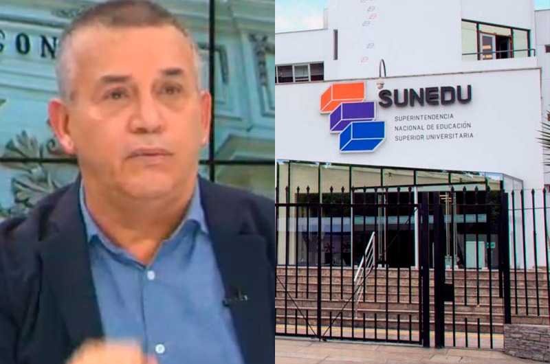 "Daniel Urresti sobre Sunedu: ""No vamos a mover un dedo en defensa de Telesup"""