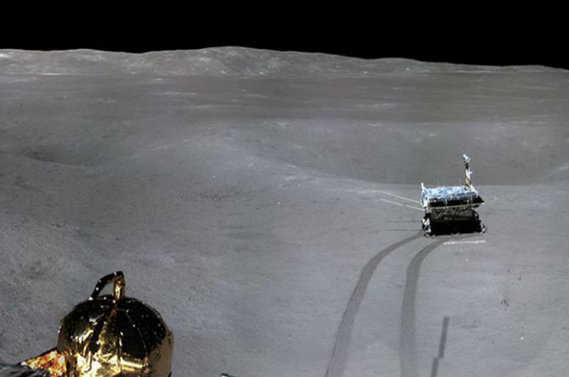 China difunde las primeras imágenes panorámicas de la cara oculta de la Luna