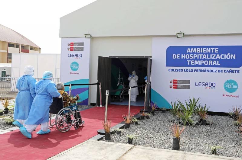 COVID-19: Hospitales temporales encargados a legado Lima 2019 ya están funcionando