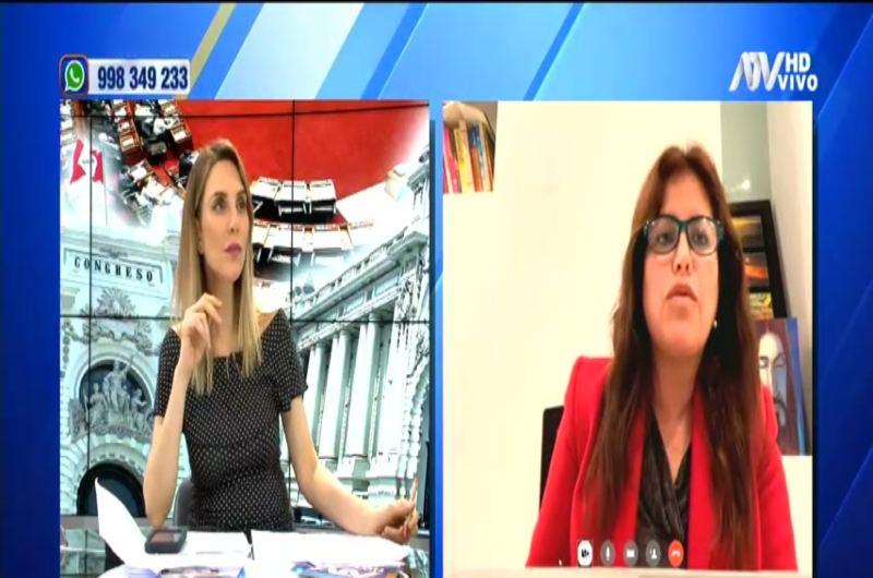 """Carmen Omonte sobre reformas: """"No es ningún ardid ni triquiñuela"""""""