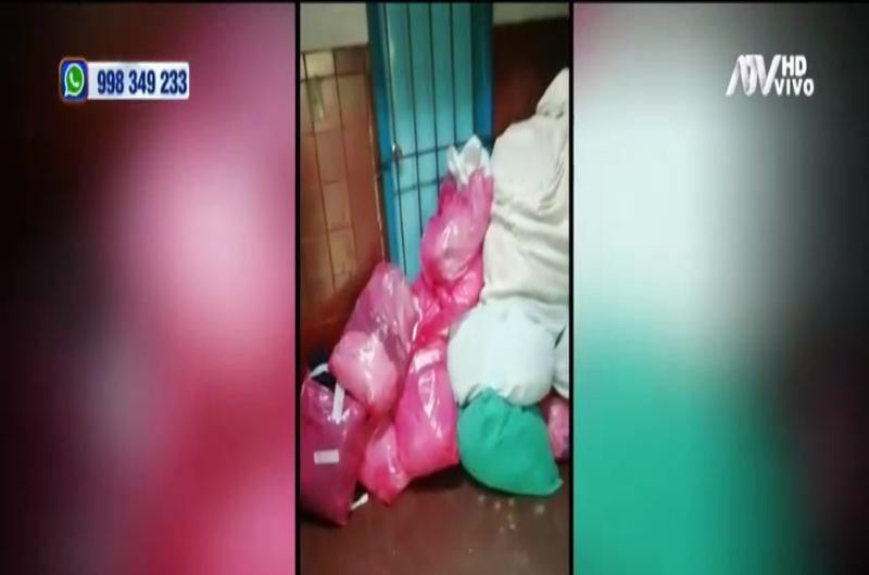 Lavandería de hospital en Arequipa es foco infeccioso de COVID-19