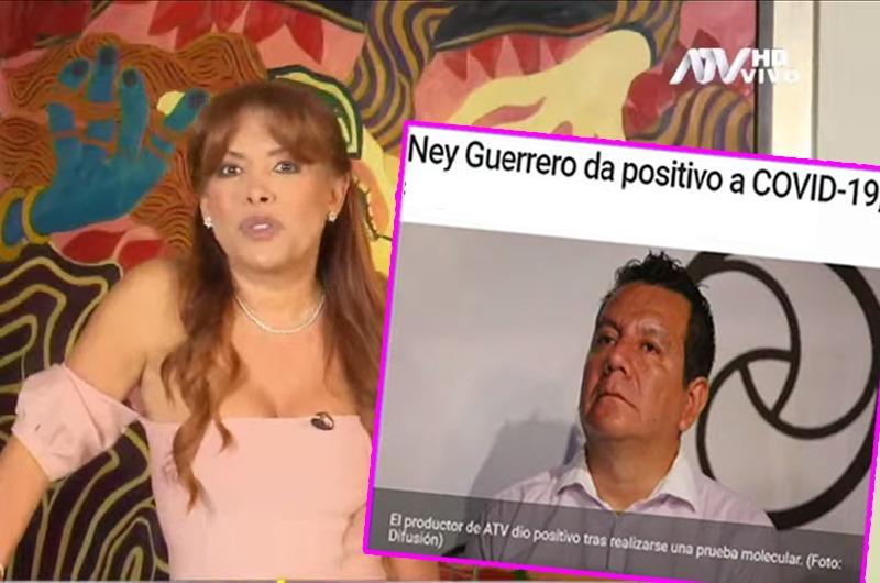 Confirman que Ney Guerrero dio positivo a coronavirus