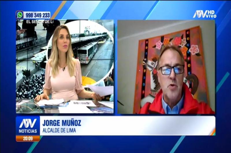 """Jorge Muñoz sobre Metropolitano: """"Tenemos un Estado que se cuida en demasía"""""""