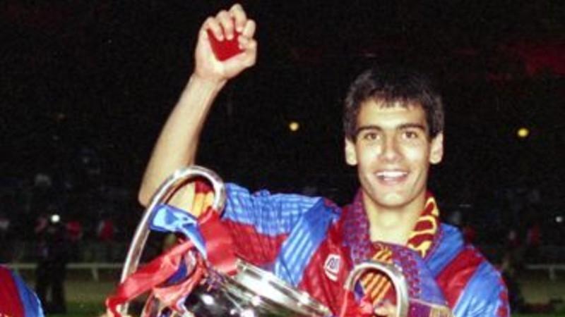 Redes Sociales: El viralizado baile de 'Pep' Guardiola tras ganar la 'Champions' como jugador