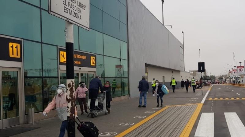 Callao: Más orden y menos colas en Aeropuerto Jorge Chávez