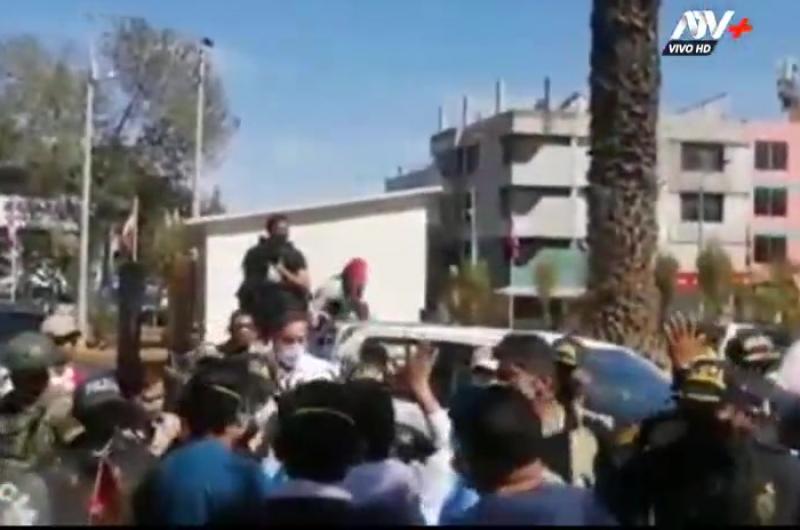 Arequipa: Médicos protestaron por crisis sanitaria por Covid-19