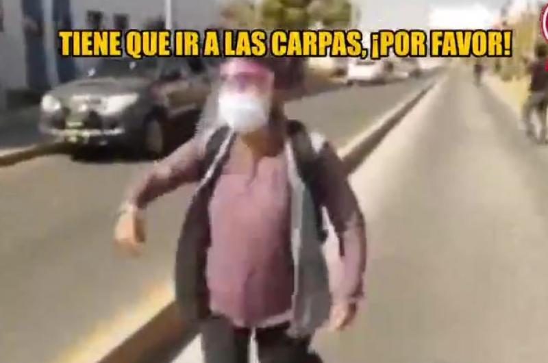 Falleció el esposo de la mujer que pedía ayuda en Arequipa