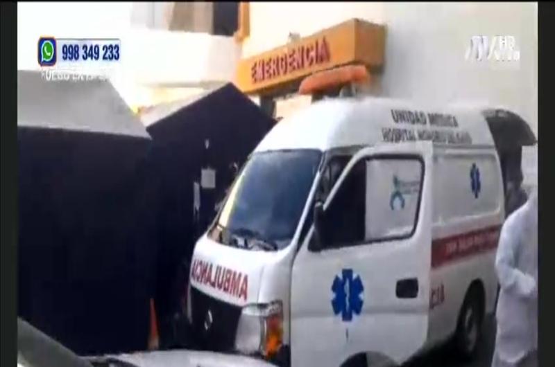 Arequipa: Pacientes de COVID-19 son llevados a centros de aislamiento temporal