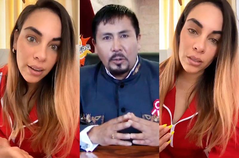"""Aída Martínez arremete contra gobernador regional de Arequipa: """"¡Es un ineficiente!"""""""