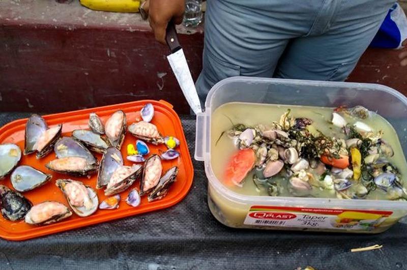 Trujillo: Sujetos intentaron ingresar droga a un penal en sudado de pescado y conchas negras