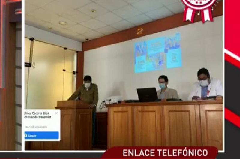 Elmer Cáceres Llica se pronunció tras el anuncio del Presidente Vizcarra