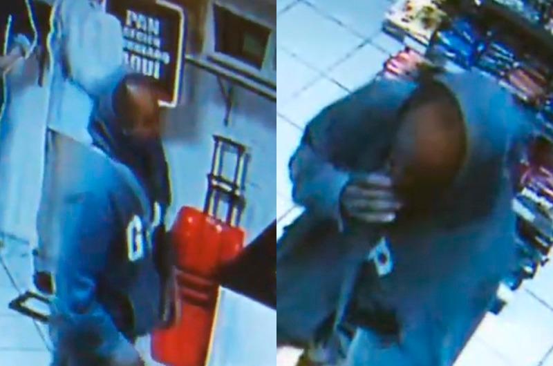 Inescrupuloso ladrón se quita la mascarilla y amenaza a trabajador con contagiarle COVID-19