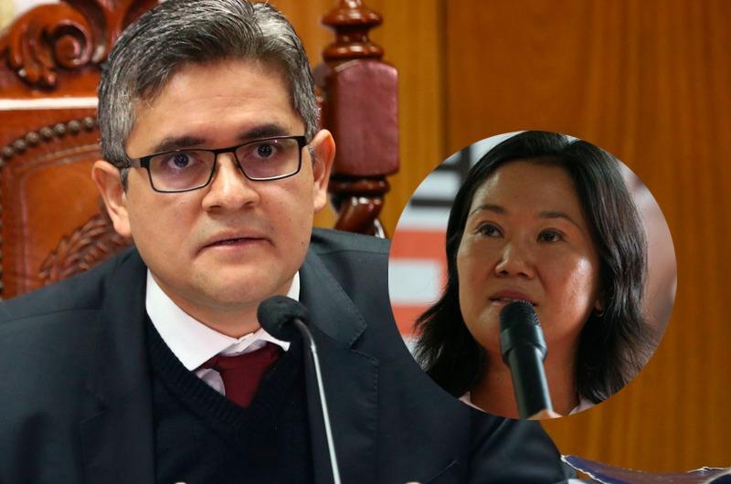Fiscal Pérez pide suspender actividades políticas de Fuerza Popular por más de 2 años