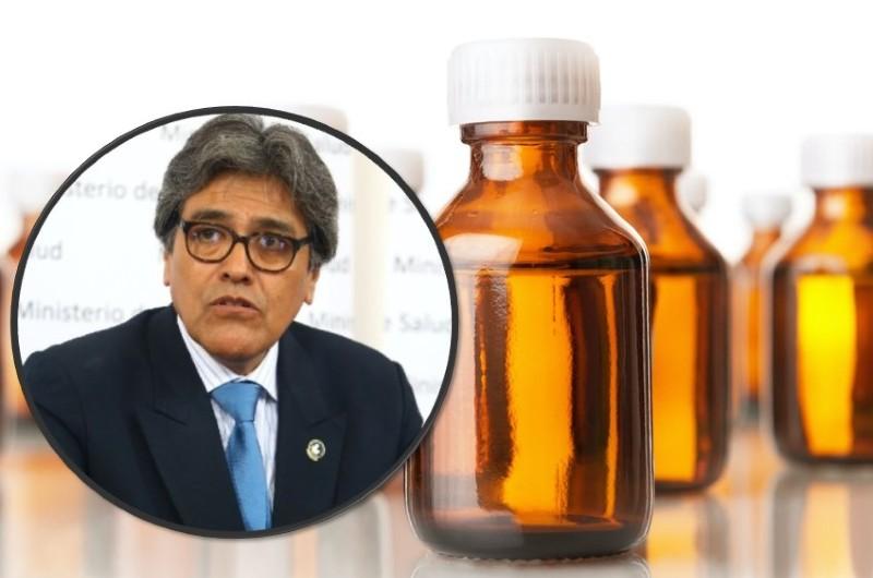 COVID-19: Exministro Salinas se pronuncia por pedido de ley para usar dióxido de cloro