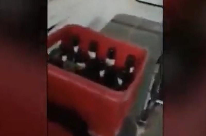 Áncash: Ambulancia fue abandonada con cajas de cerveza en su interior