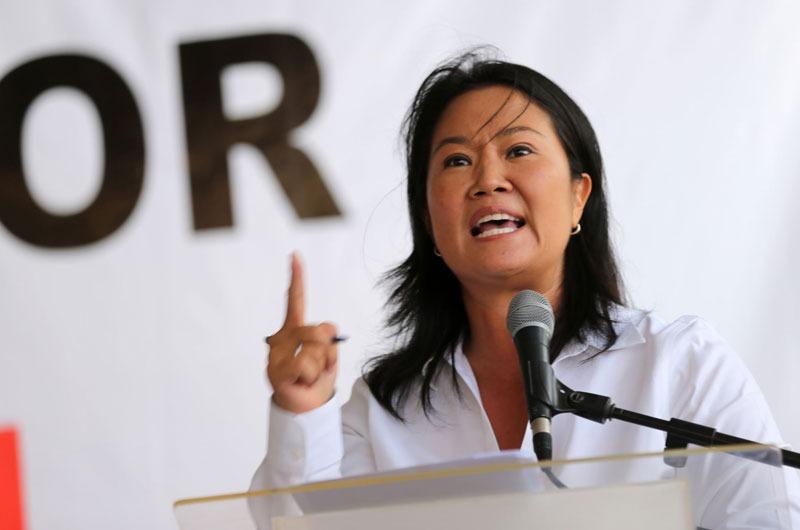Keiko Fujimori se pronuncia tras pedido de suspensión de Fuerza Popular