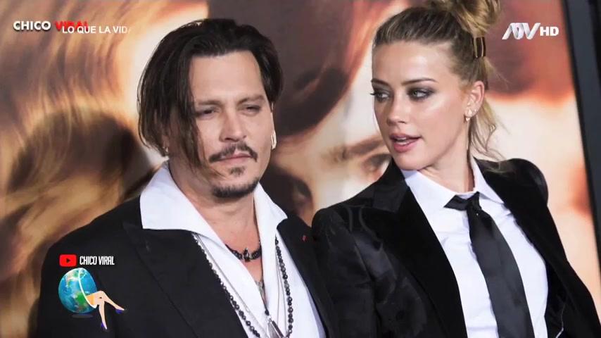 Johnny Depp y Amber Heard, la pareja más tóxica de Hollywood