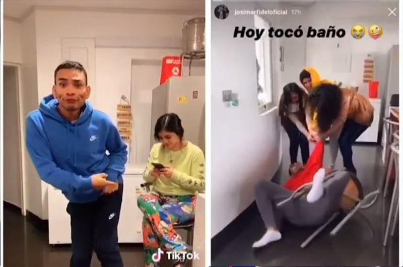 Los divertidos Tik Tok de Josimar y su novia María Fe