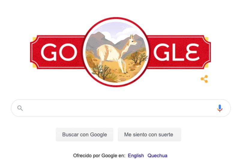 Google celebra el Día de la Independencia del Perú con un doodle por Fiestas Patrias