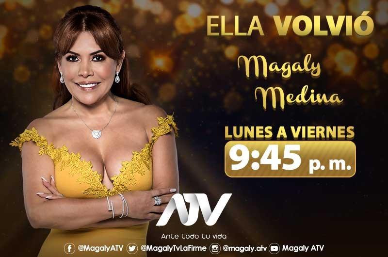 ¡En exclusiva! Magaly Medina regresa a las pantallas de ATV