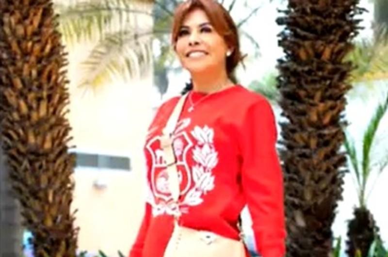 Belleza: 'Look' patrio con prendas y símbolos nacionales