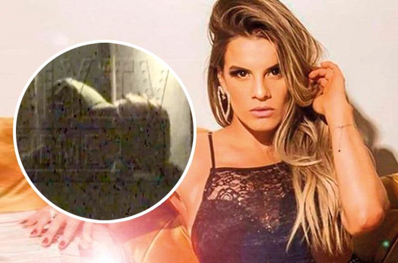 ¿Nuevo romance? Alejandra Baigorria es captada 'chapando' con conocido chico reality