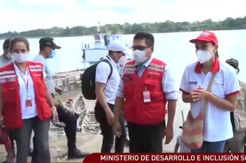 Loreto: Entregan 31 toneladas de alimentos a familias vulnerables