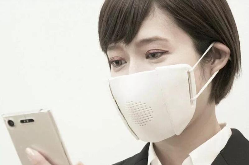 Coronavirus: En Japón crean una mascarilla con 'Bluetooth' incorporado