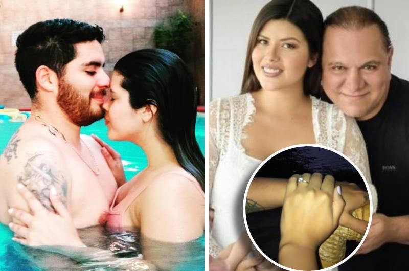 Exesposa de Mauricio Diez Canseco se casa con atractivo joven y presume su pedida