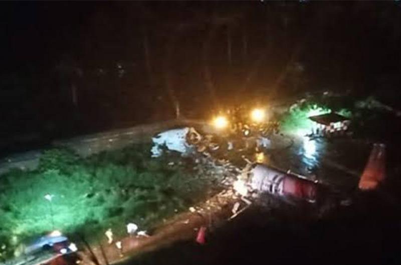 Calcuta: Al menos 2 muertos y 35 heridos tras aterrizaje de emergencia