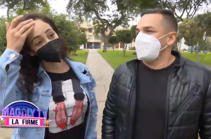 """Novio de Olinda Castañeda a Jackson Mora: """"Tiene que entender que ahora tiene pareja"""""""
