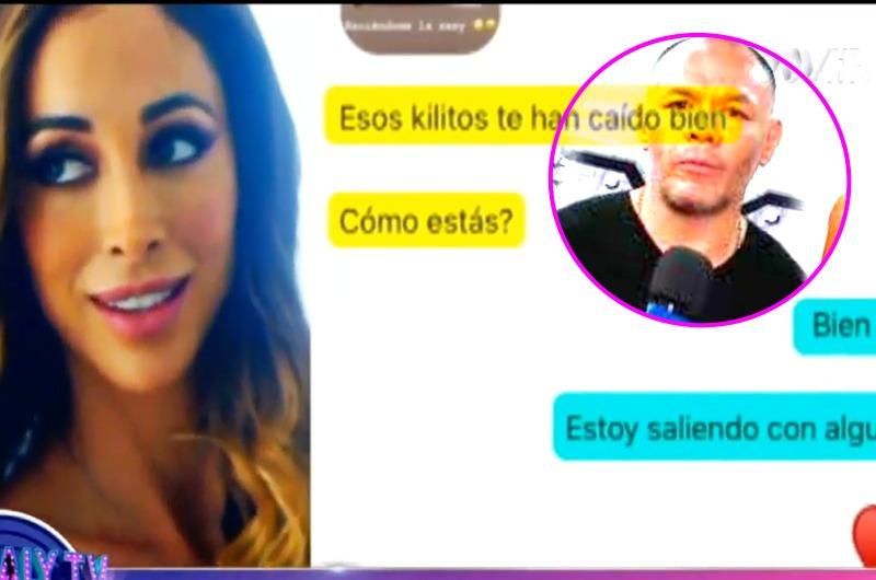 """""""Esos kilitos te han caído bien"""": Olinda Castañeda 'echa' a Jackson Mora y muestra chats"""