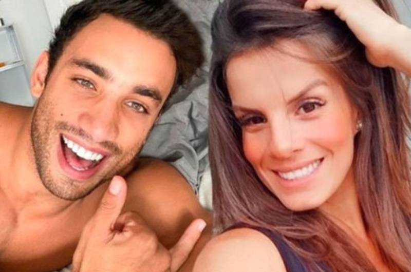 Alejandra Baigorria y Said Palao ya no se ocultan y promocionan ropa juntos