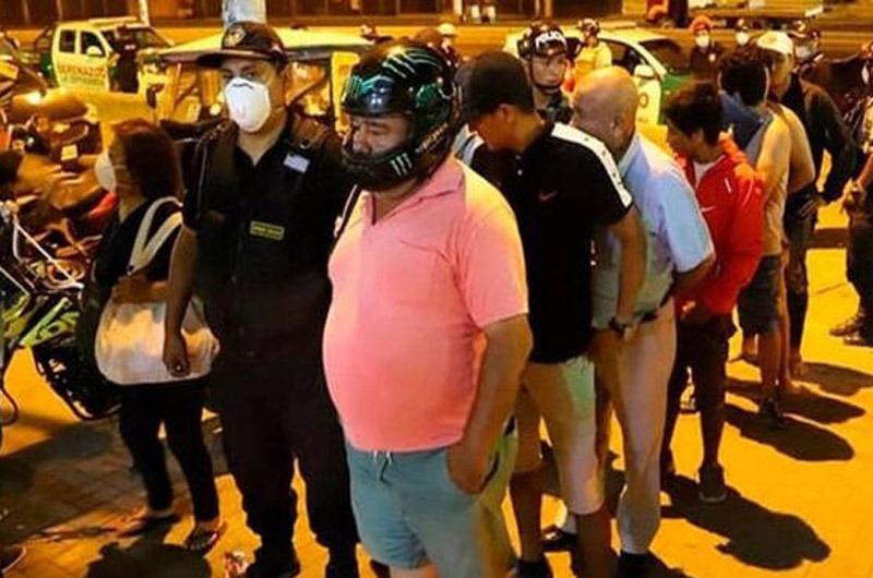 Personas que violen el toque de queda serán multadas ¡Y detenidas por un día!