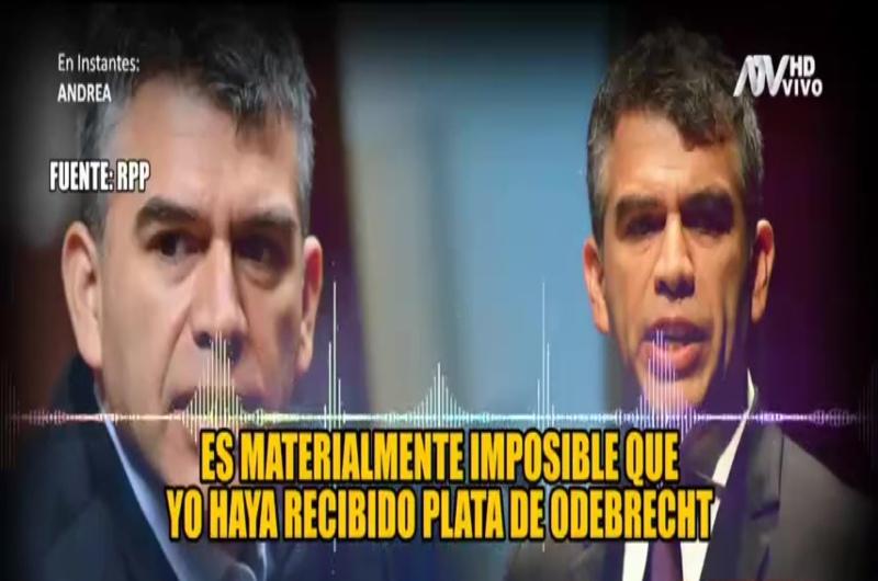 Julio Guzmán es acusado de recibir dinero de Odebrecht