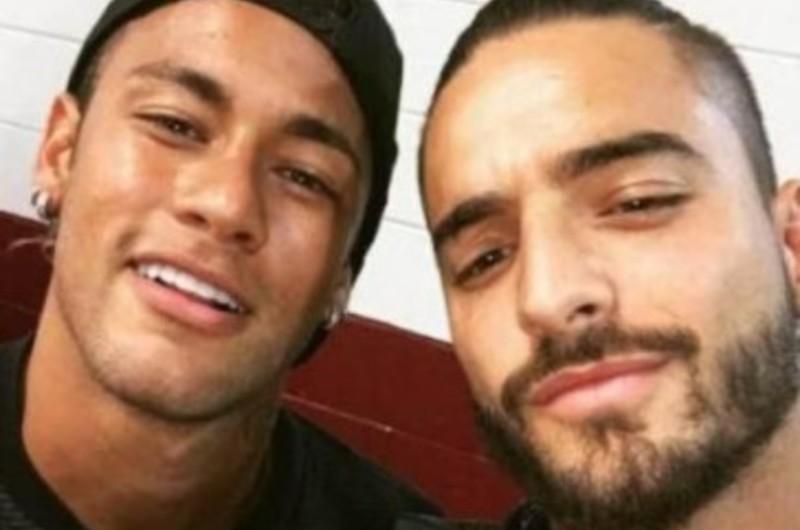 Maluma reapareció en redes sociales tras polémica con Neymar y exnovia