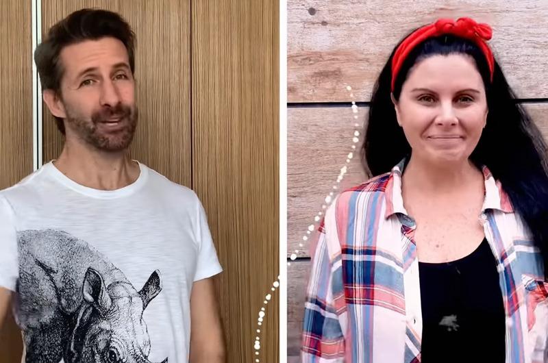 Marco Zunino y 'Miss Laurita' apoyan a niños con videos educativos