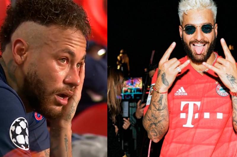 Neymar vs. Maluma: Los 'memes' que dejó derrota del PSG ante Bayern Múnich en la final de UCL