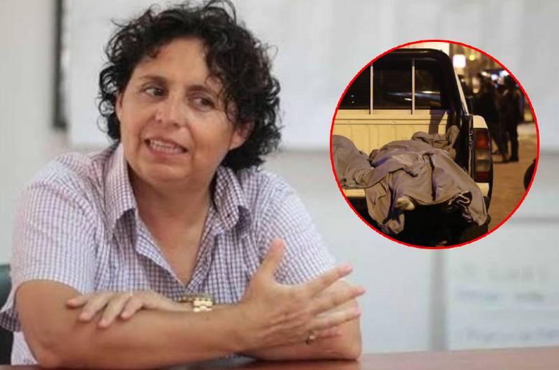 Susel Paredes se muestra en contra del operativo realizado por PNP en tragedia de Los Olivos
