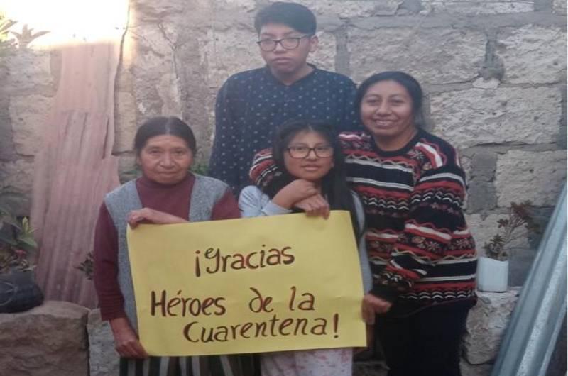 Campaña 'Tu causa es mi causa' busca apoyar a familias vulnerables de Trujillo