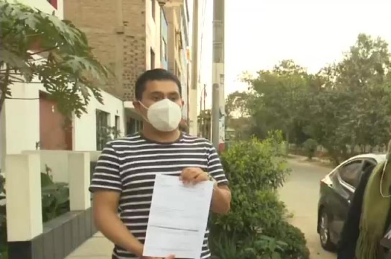 Joven denuncia el robo de su cuenta bancaria de AFP
