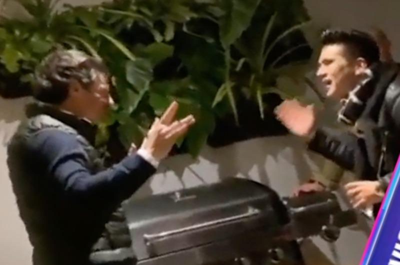Deyvis Orosco sorprende al cantar con el esposo de Jessica Newton