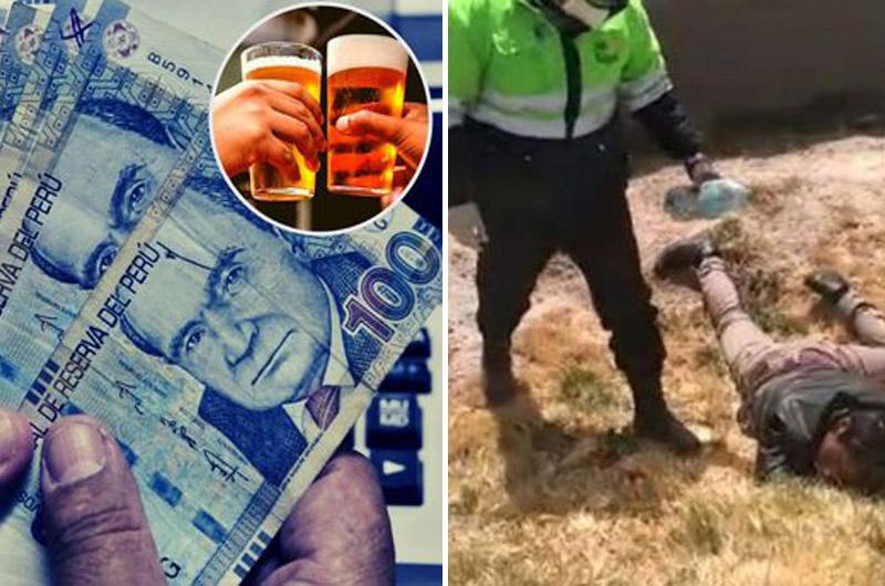 Joven que cobró bono económico es hallado ebrio e inconsciente tras ser 'pepeado' en Puno