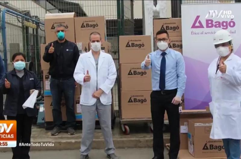 Laboratorios Bagó realizó una importante donación a profesionales de la salud