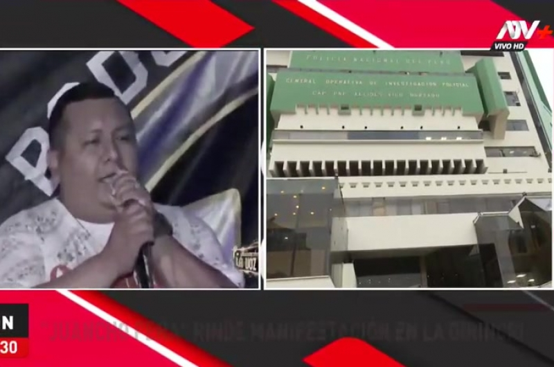 Tragedia en Los Olivos: Juancho Peña rindió su manifestación en la Dirincri