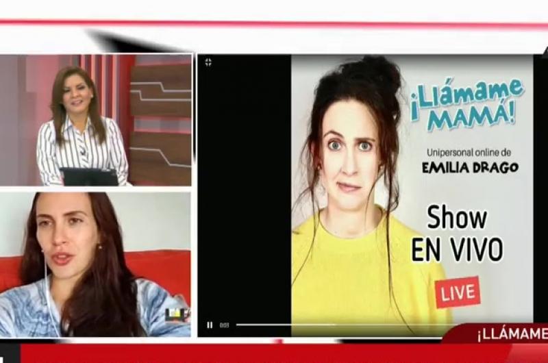 Emilia Drago presenta su unipersonal sobre la maternidad